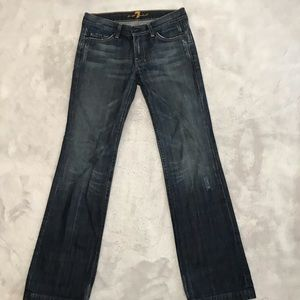 7 For All Mankind Stovepipe Jeans